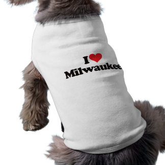 I Love Milwaukee Shirt