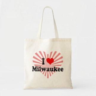 I Love Milwaukee, United States Tote Bag