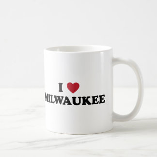 I Love Milwaukee Wisconsin Coffee Mug
