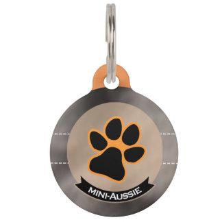I love mini Aussies | Miniature American Shepherd Pet Name Tag