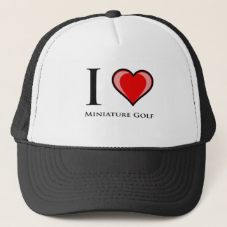 I Love Miniature Golf Trucker Hat