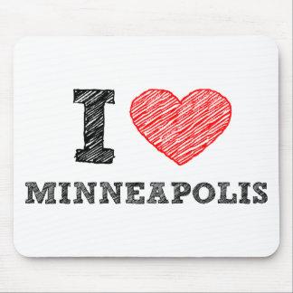 I-Love-Minneapolis Mouse Pad