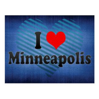 I Love Minneapolis, United States Postcard