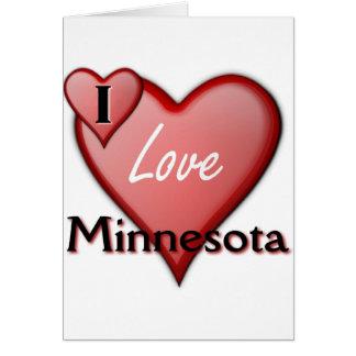 I Love Minnesota Card