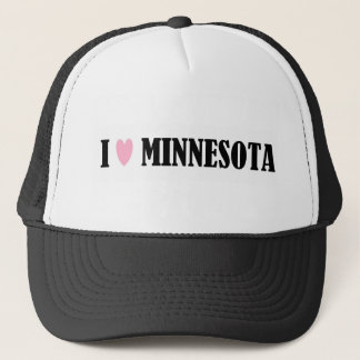 I LOVE MINNESOTA HAT