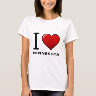 I LOVE MINNESOTA T-Shirt