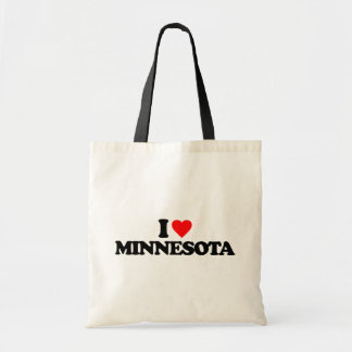 I LOVE MINNESOTA TOTE BAG