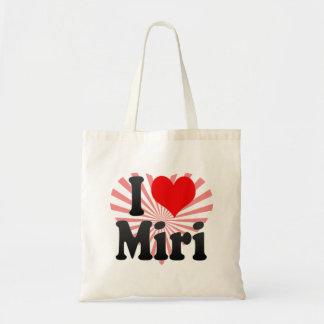 I Love Miri, Malaysia Tote Bag