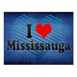 I Love Mississauga, Canada Postcard