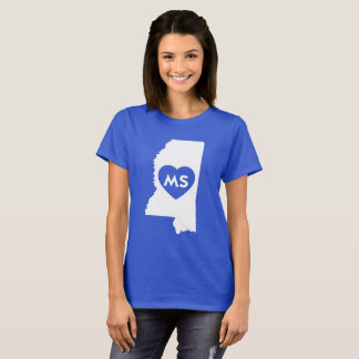 I Love Mississippi State Women's Basic T-Shirt