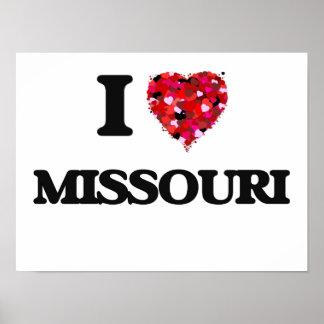 I Love Missouri Poster