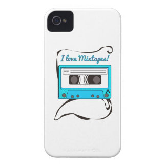I Love Mixtapes! iPhone 4 Covers
