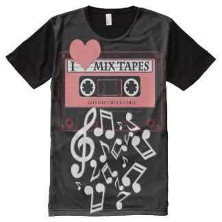 I Love MixTapes II All-Over-Print T-Shirt