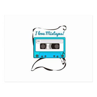 I Love Mixtapes Postcards