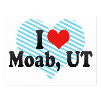 I Love Moab, UT Postcard