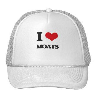I Love Moats Trucker Hat