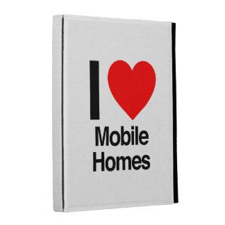 i love mobile homes iPad folio case