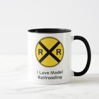 I Love Model Railroading Mug