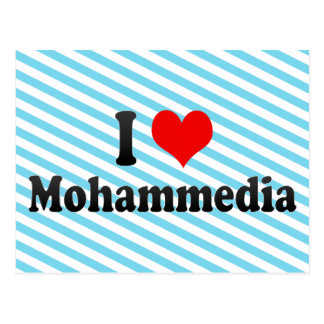 I Love Mohammedia, Morocco Postcard
