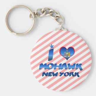 I love Mohawk, New York Keychain