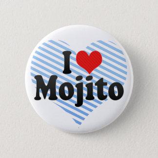 I Love Mojito 2 Inch Round Button