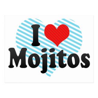 I Love Mojitos Postcard