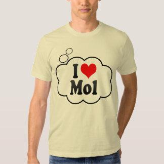 I Love Mol, Belgium Shirts