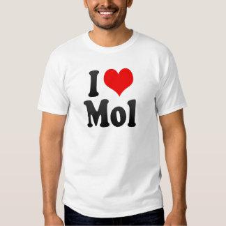 I Love Mol, Belgium T-shirt