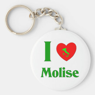 I Love Molise  Italy Keychain
