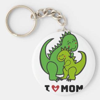 I Love Mom.ai Keychain