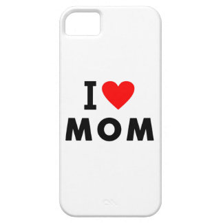 i love mom heart mommy text message mother symbol iPhone 5 case