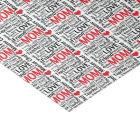 I Love Mom - Multitasking Master Chef Mother Tissue Paper