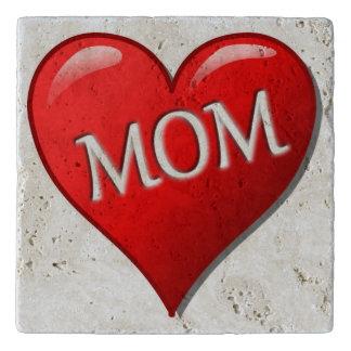 I LOVE MOM TRIVET