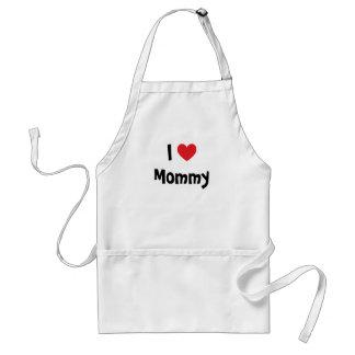 I Love Mommy Apron