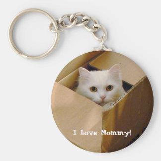 I Love Mommy! Keychain