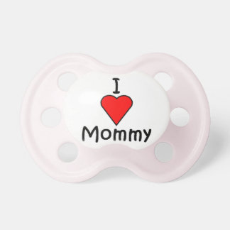I Love Mommy Pacifiers