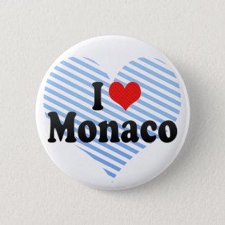I Love Monaco 2 Inch Round Button