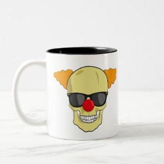 I love mondays and sarcasm Two-Tone coffee mug