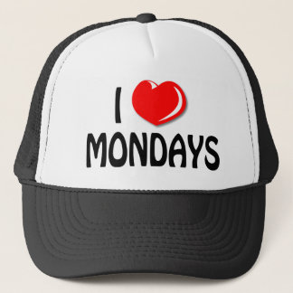 I Love Mondays Cap