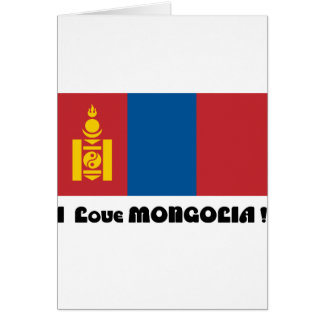 I LOVE MONGOLIA--DESIGN 2 FROM 933958STORE CARD