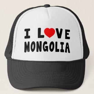 I Love Mongolia Trucker Hat