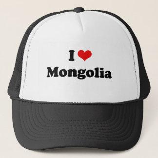 I Love Mongolia Tshirt Trucker Hat