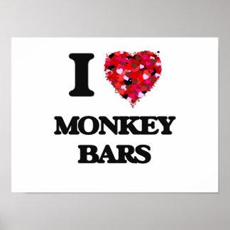 I love Monkey Bars Poster