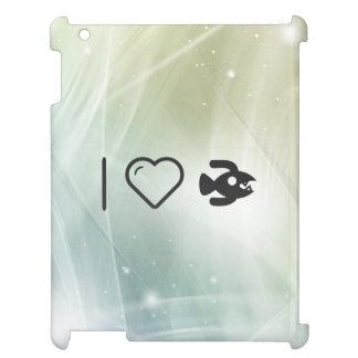 I Love Monster iPad Cases
