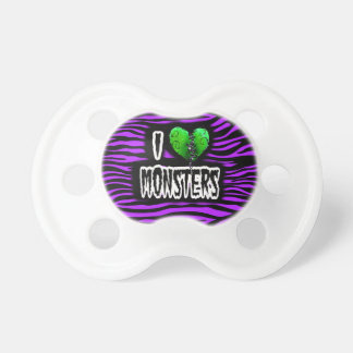 I Love Monsters Pacifier