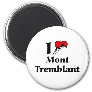 I love Mont Tremblant Magnet