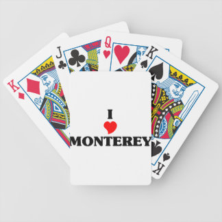 I love Monterey Park Bicycle Playing Cards