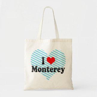 I Love Monterey, United States Tote Bag
