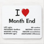 I Love Month End - I Heart Month End