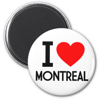 I Love Montreal Magnet